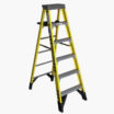 6-ft Fiberglass 375-lb Type IAA Step Ladder